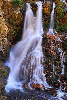 Cullasaja Falls near Highlands, North Carolina; photo by Eve Lane