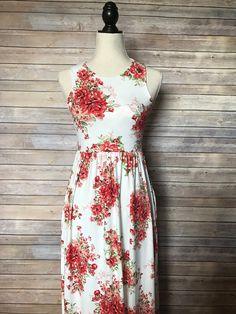 Beautiful Florals Maxi Dress