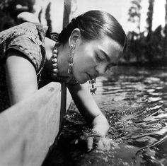 Frida Kahlo, a 108 años de su nacimiento.