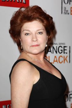 Kate Mulgrew (Red) at the Netflix Presents 'Orange is the New Black' premiere in NYC. #OITNB