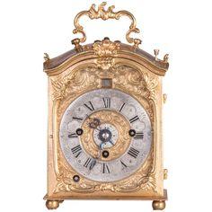 Baroque Carriage Clock with Alarm 1