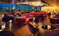 Mondrian London at Sea Containers, England This 359-room hotel on the Thames has all the hallmarks of its American counterparts (buzz, high design) along with British flair (color and whimsy).