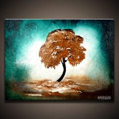 """abstract tree paintings 