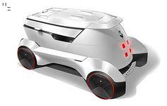 Renault VUE Autonomous Concept on Behance