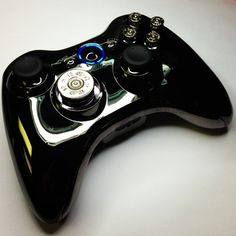 xbox controller Xbox 360, Playstation, Bullet Button, Xbox Controller, Gaming Accessories, Black Ops, Nerdy Things, Cool Gadgets, Halo