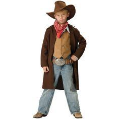 kids western duster