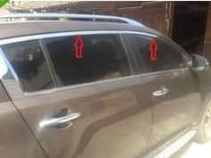 75.00$  Buy here - http://alirb0.worldwells.pw/go.php?t=1958340843 - Chrome Window Molding sill trims For KIA sportage 2011 75.00$