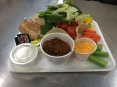 Taco Salad from Edison Local Schools, Milan, Ohio K12 School, Public School, Breakfast Lunch Dinner, Dessert For Dinner, Cafeteria Food, Merchandising Ideas, School Lunches, Child Nutrition, Food Service