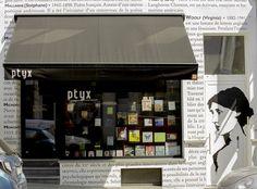 Librairie Ptyx, Brussels, Belgium