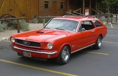 Seems there's a little controversy about a 4 door 2014 Mustang, well understood. Then we get creative ideas from individuals like this Mustang Station Wagon only to find out Ford actually was thinking about this back in the day ('65).