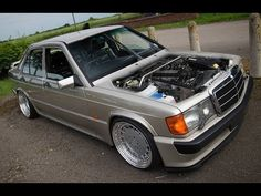 Mercedes Benz w201 190e Project by Rhys - YouTube Mercedes Benz 190e, Benz Car, Modified Cars, Luxury Cars, Volkswagen, Classic Cars, Evolution, Projects, Youtube