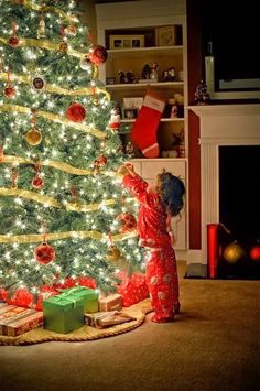 My favorite holiday since I can remember has always been Christmas Eve.  The feeling, the anticipation, the glow, the love, the spirit, the smells, I could go on for days.