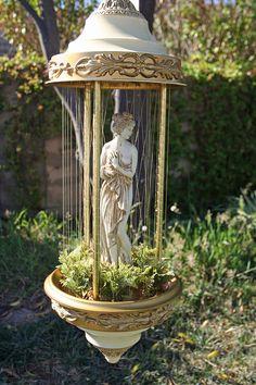 hanging goddess oil rain swag lamp swag goddesses and rain rh pinterest com wiring a hurricane lamp Floor Lamp Wiring Diagram
