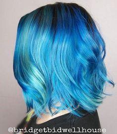 Love the deep blue!