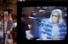 BROTHERTEDD.COM - movie-gifs: Wayne's World (1992) dir. Penelope... Wayne's World, Movie Gifs, Movies, Painting, Art, Art Background, Films, Painting Art, Kunst