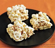 Marshmallow Popcorn Bars - fast and simple to make!