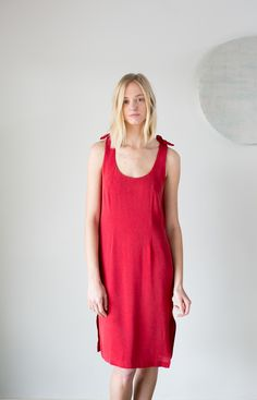 The Finn Dress - Perfect Red