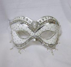 "Masquerade Mask - Wedding Mask - ""Princess Bride"". $165.00, via Etsy."