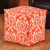 Found it at Wayfair - Babar Spice Square Seamed Beads Hassock Ottoman