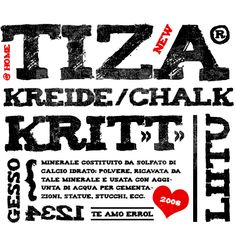 Font of the Day: Tiza -> Free Download