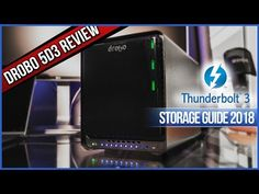 The Drobo is the cheapest and fastest available direct attached Storage with a thunderbolt 3 connection. This Storage Enclosure is offering a high video . Today Episode, Photo Editing, Samsung, Social Media, Storage, Youtube, Purse Storage, Photo Manipulation, Larger