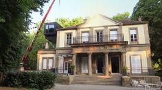 Moderne Ideen-Werkstatt trifft auf klassizistische Villa Mertz – LINGNER.COM setzt mit modularem Anbau architektonisches Highlight in Heilbronn. Mehr unter http://lingner.com/agentur/werk-1-architektonisches-highlight/