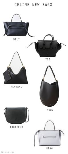 Trini blog | Celine newer bags