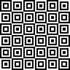 Square / Rectangular Geometric Coloring Pages