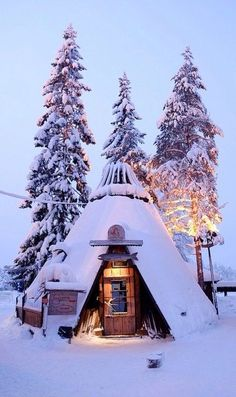 Snow Cottage, Kittila, Lapland, Finland