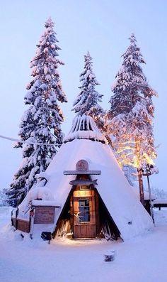 Snow Cottage, Kittila, Lapland, Finland