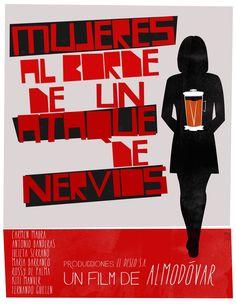 Mujeres al borde de un ataque de nervios. Pedro Almodóvar. Saul Bass.