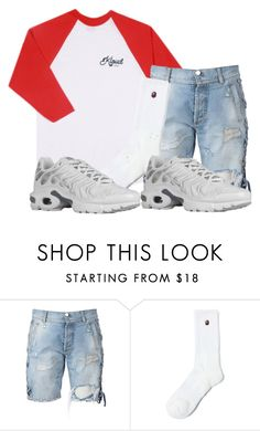 """""""Untitled #2196"""" by dreakagotswagg ❤ liked on Polyvore featuring CO, Faith Connexion, A BATHING APE and NIKE"""