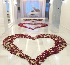 Image about love in Flowers 💐🌸🌷🌹🌻🌺 by Isabelle Roos Romantic Room Decoration, Romantic Bedroom Decor, Romantic Room Surprise, Image Couple, Lebanese Wedding, Marriage Proposals, Romantic Dinners, Luxury Lingerie, Red Roses