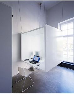 Suspend your desk from the ceiling - The home office research