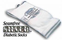 Seamless Toe Socks for men. Eliminates bacteria, prevents dermatitis, athlete's foot, fungus. Toe Socks For Men, Kids Socks, Diabetic Socks, Knitting Socks, Diabetes, Athlete's Foot, Diabetic Living, Silver, Environment