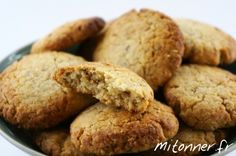 Biscuits Sablés Amande-Sésame - Mitonner.fr