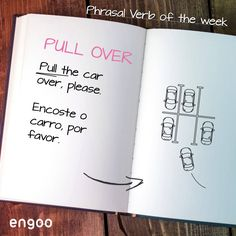 """Se um policial lhe disser """"Pull the car over"""", não pense duas vezes! Estacione o carro no acostamento.  #PhrasalVerbs #Engoo #LearnEnglish Getting Over Her, Get Over It, Fear Of Dogs, Stop Complaining, Over The Hill, Feeling Sad, Learn English, How To Get, Relationship"""