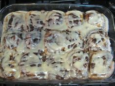 Dark and Dangerous Cinnamon Buns