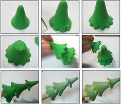 Tutoriel : Comment faire un arbre de noël en Fimo - Le blog de miss-kawaii