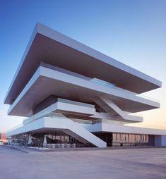 Edificio Veles e Vents (America's Cup Building), Valencia, Spain. By David Chipperfield.