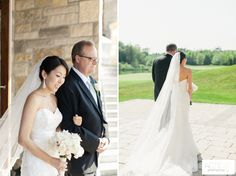Eagle's Nest Wedding | Alexandra Chris Walking down the aisle at www.eaglesnestgolf.com