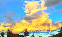 Sky on Fire #naturePhotography #sunset #reflection #photoshopped