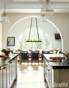 Alleyway kitchen