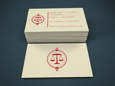 Business Card for a lawyer in Rhodes, Greece https://www.behance.net/gallery/25595741/Lawyer-Business-Card