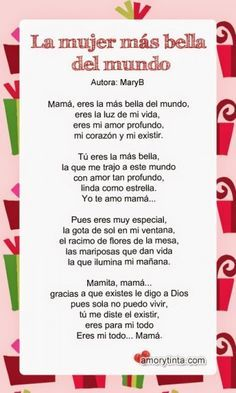 Poemas Bonitas Cartas Para El Dia De La Madre 76fa5cc13c90b44e25b1d0c11ef32d90 Coaching Jpg 236 393 Poema