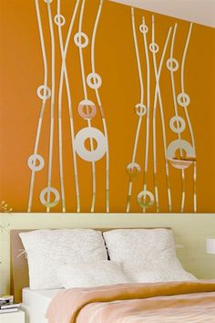 Apart from real mirrors, design lovers are making use of mirror wall art stickers that look like a mirror. So, be smart enough to fill the scale of your wall with these uttermost mirror wall art stickers for wall decoration. Mirror Decal, Mirror Wall Art, Mirror Wall Stickers, Uttermost Mirrors, Tile Covers, Cool Wall Art, Kids Wall Decals, Geometric Wall, Wall Design