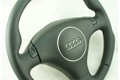 Modified steering wheel Audi A4 B6 A6 C5 FL. NEW Leather!