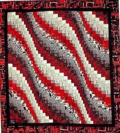 Wavy Bargello Quilt Pattern ONLY by AbsolutelyObsessed on Etsy - $9.22