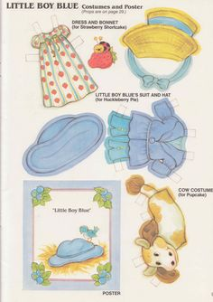 Strawberry Shortcake's Playhouse Paper Doll Book - Page 6