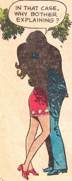 "comicslams: ""Young Romance Vol. 22 No. May 1972 "" Comic Books Art, Comic Art, Comic Book Bubble, Ben Day Dots, Art Spiegelman, Romance Comics, Comic Panels, Old Ads, Art Music"